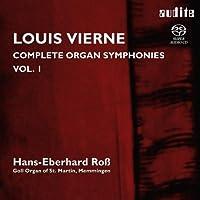 ヴィエルヌ: オルガン交響曲第1番&第2番 (Louis Vierne : Complete Organ Symphonies Vol.1 / Hans-Eberhard Ross) [SACD Hybrid] [輸入盤]