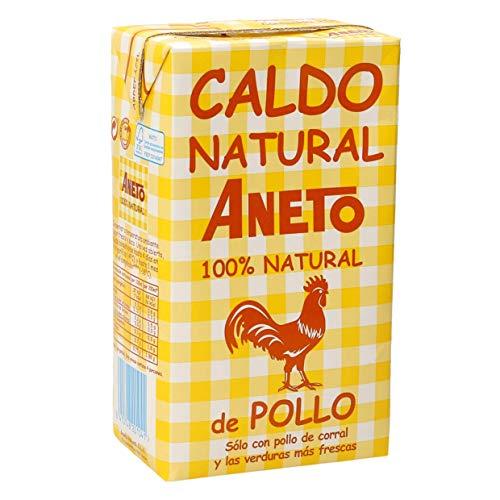 ANETO caldo natural de pollo envase 1,04 lt