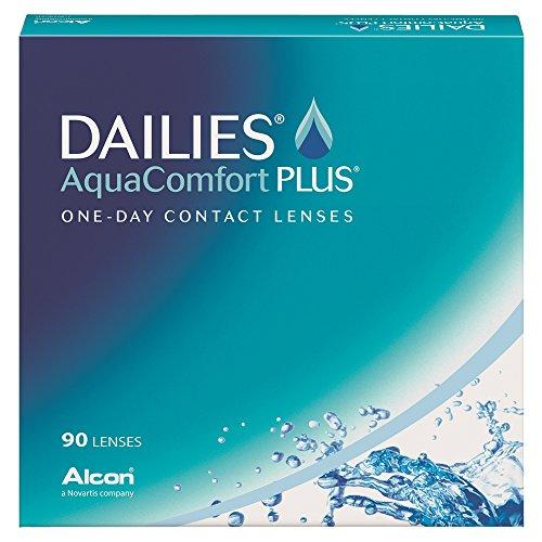 Alcon (Ciba Vision) Dailies AquaComfort Plus Tageslinsen, 90 / BC 8.70 / DIA 14.00 / -14.50 Dioptrien