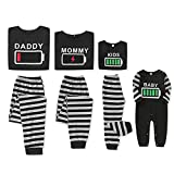 Holiday Matching Family Pajamas Cotton Pjs Set Sleepwears Pajamas for Toddler Boys and Girls 12-18 Months