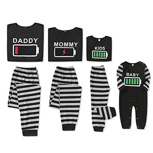 Holiday Matching Family Pajamas Cotton Pjs Set Sleepwears Pajamas for Toddler Boys and Girls 18-24 Months