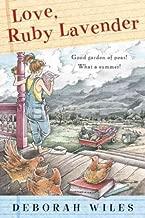 Love, Ruby Lavender (Turtleback School & Library)[ LOVE, RUBY LAVENDER (TURTLEBACK SCHOOL & LIBRARY) ] by Wiles, Deborah (Author) Mar-01-05[ Hardcover ]