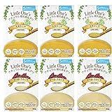 無添加 国産無農薬野菜・天然食材の離乳食(ベビーフード) 「リトルワンズ」5ヶ月頃~ (6個セット)