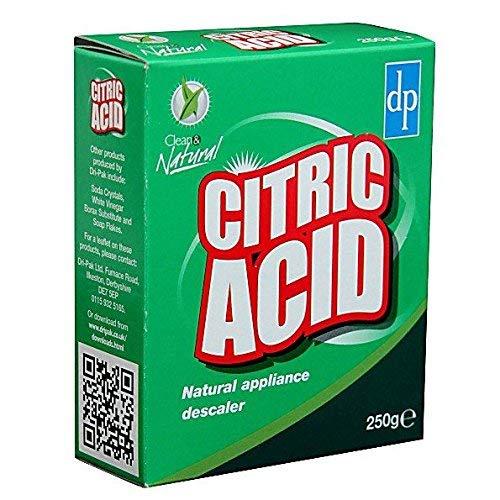 DriPak ácido cítrico, descalcificador de aparatos naturales, 250 g