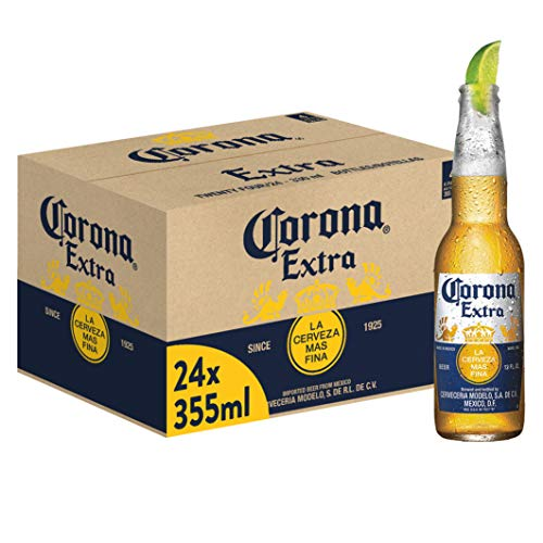 Corona Extra Premium Lager Flaschenbier,...