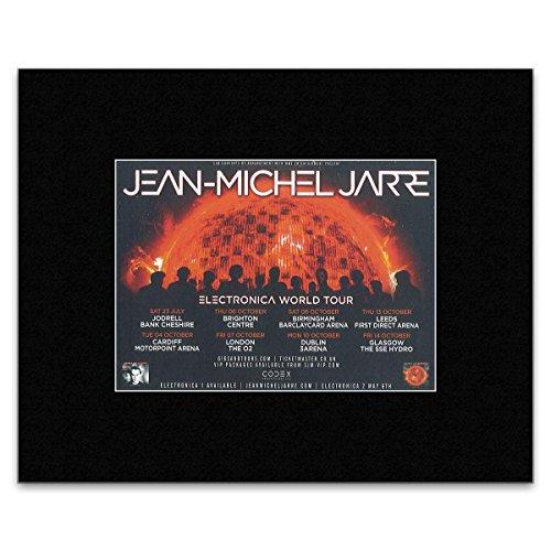 Mini-Poster, Jean-Michel Jarre Electronica World Tour 2016, 25,4 x 30,3 cm