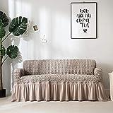 ZJXSNEH Im Japanischen Stil Gewebte Bubble Plaid All-Inclusive-Sofabezug Stretch-Sofabezug...