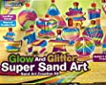 Creative Kids Glow in the Dark Super Glitter Sand Art Kit