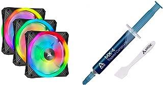 Corsair QL Series, Ql120 RGB, 120mm RGB LED Fan, Triple Pack with Lighting Node Core & Arctic MX-4 - Thermal Compound Past...