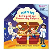 Navneet Flappy Fun Picture Book- Lets meet our Community Helpers