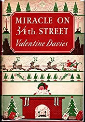 Christmas Books: Miracle on 34th Street by Valentine Davies. christmas books, christmas novels, christmas literature, christmas fiction, christmas books list, new christmas books, christmas books for adults, christmas books adults, christmas books classics, christmas books chick lit, christmas love books, christmas books romance, christmas books novels, christmas books popular, christmas books to read, christmas books kindle, christmas books on amazon, christmas books gift guide, holiday books, holiday novels, holiday literature, holiday fiction, christmas reading list, christmas authors