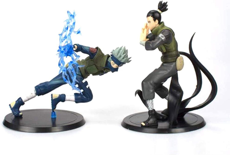 Siyushop Naruto Shippuden  Naruto PVC Action Figure Spielzeug - Sammler Modell Spielzeug - Nara Shikamaru - Hatake Kakashi B07Q7PR9YX Jeder beschriebene Artikel ist verfügbar    Wir haben von unseren Kunden Lob erhalten.