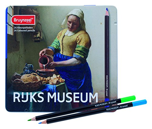 Bruynzeel Rijks Museum 24 Color Pencil Tin
