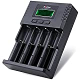 Soshine H4 LCD Universal Battery Charger for 14500 18350 18650 26650 Aa AAA C