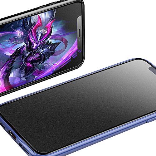 """JELLYEA 2-Pezzi Pellicola Opaca per iPhone XR / 11 Copertura Completa 3D Antiriflesso Anti-Impronte Vetro Temperato Opaco 9H HD Protezione Schermo Matte Pellicola Protettiva per iPhone 11 / XR,6,1"""""""
