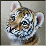 ZMGYA Wooden Jigsaw PuzLittle Tiger-50001000 Piece Jigsaw Puzzle Retro Ideal for Kids to Adult, Toy,...