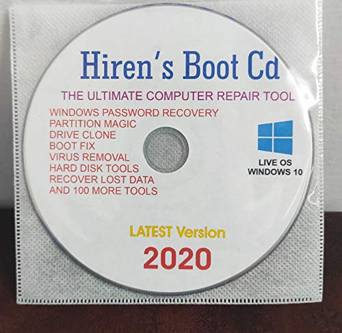 LIVE BOOTABLE OS to Fix & Repair All Computer Problems Latest Version More than 100 Tools