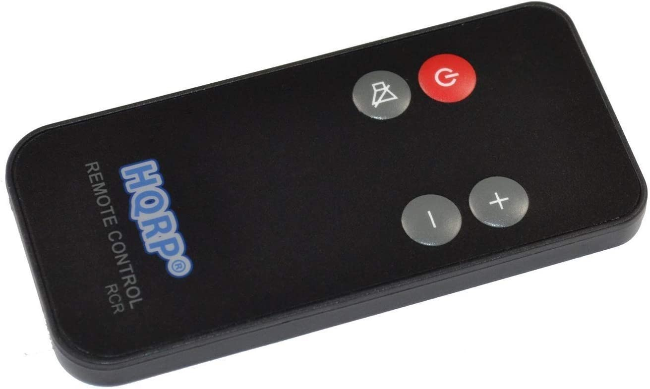 HQRP Remote Control Compatible with Bose Solo 410376, Solo 10, Solo 15, Cinemate Series II 2, IIGS, GS Series II, CineMate 10, CineMate 15 TV Sound System Controller