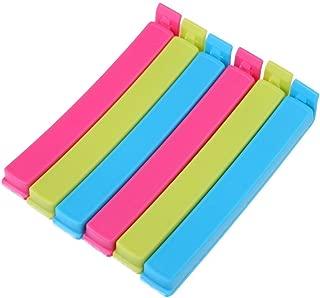Generic Plastic Food Snack Bag Pouch Clip Sealer, Multicolour 18-Pieces