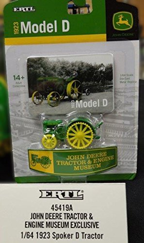 John Deere 1/64th D - 2014 Tractor & Engine Museum Edition