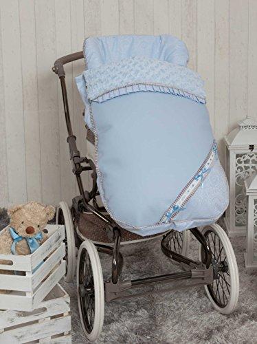 Babyline Bombón - Saco para silla de paseo, color azul