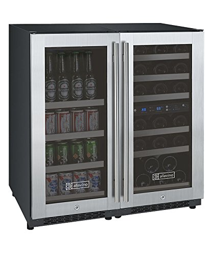 Allavino 3Z-VSWB15-3SST Flex Count Series Wine and Beverage Center