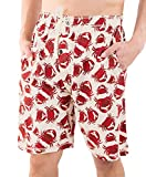 Lazy One Pajama Shorts for Men, Men's Separate Bottoms, Cotton Loungewear, Seafood, Ocean,...