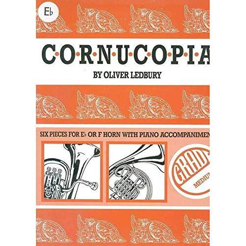 Oliver Ledbury: Cornucopia (Horn in Eb/Piano)