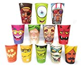 4 sets X 16 designs per set Size: 350 ml Paper thickness: 300 GSM Suitable for both hot and cold beverages Individual designs from The Wicked Cup are also listed separately