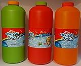 Simba Bubble Fun Seifenblasen 1 Liter Nachfüllflasche, farblich sortiert