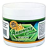 L Arginine Cream - Nitric Oxide Supplement for Men & Women - Supports Increased Blood Flow for Improved Circulation - Unscented (4 Ounces)