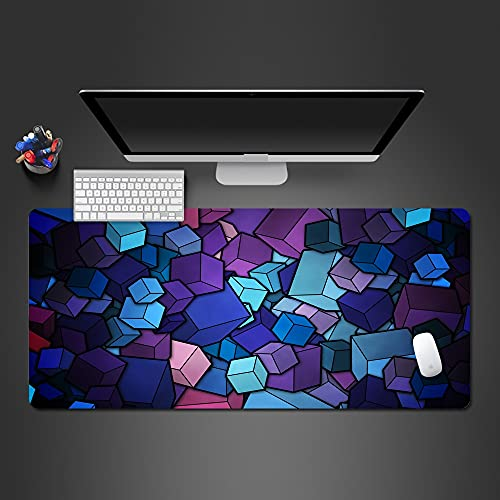 YiXing Modern Personality - Alfombrilla de ratón (goma, lavables, 1000 x 500 x 2 mm, tamaño: XL)