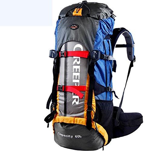 YAAGLE Outdoor Bergsteigen Taschen Rucksack Reisetasche Trekkingrucksack Fahrradrucksack 60 L-orange