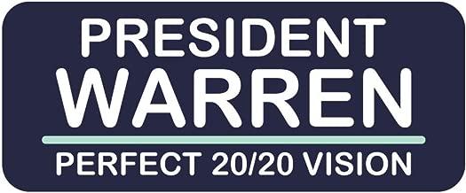 Vote Elizabeth Warren President Sticker Perfect 2020 Vision Campaign 4-inch Vinyl Decal Label Die-Cut for Volunteers Staff Supporters constituents got a Plan Water Bottle Bumper Home School Gift