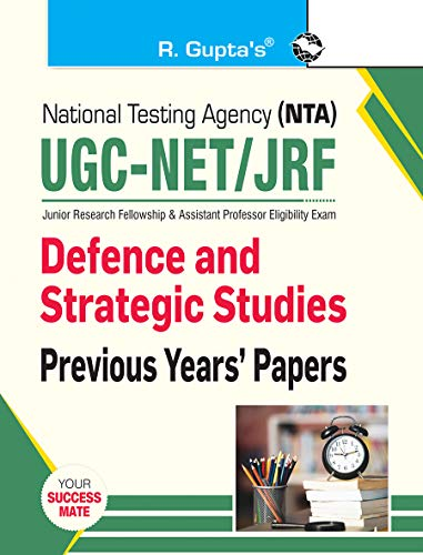 NTA-UGC-NET/JRF: Defence and Strategic Studies — Previous Years' Papers