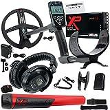 "XP Deus Metal Detector with MI-6 Pinpointer, WS5 Headphones, Remote, 9"" X35 Coil"