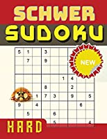 Schweres Sudoku-Raetselbuch fuer Erwachsene
