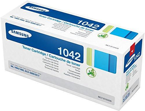Samsung MLT-D1042S, SU737A, Cartuccia Toner, da 1.500 pagine, compatibile con le stampanti Samsung LaserJet Serie ML-1660, ML-1670, ML-1671, ML-1672, ML-1674 e ML-1675, Nero