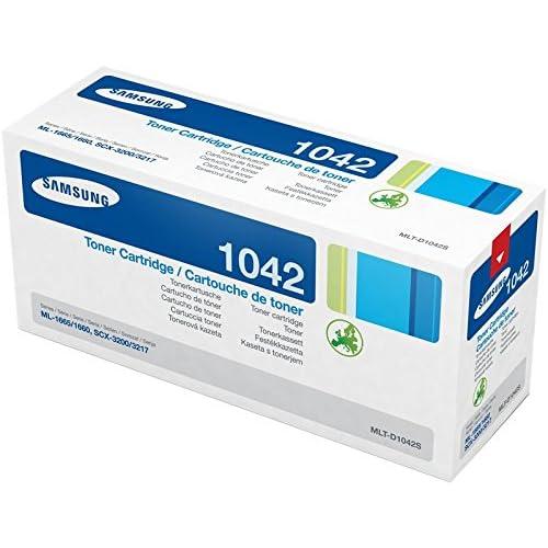 Samsung MLT-D1042S SU737A Cartuccia Toner Originale, da 1500 Pagine, Compatibile con Stampanti Samsung Laserjet Monocromatiche Serie ML-1600, 1800 e con la Serie SCX-3200, Nero