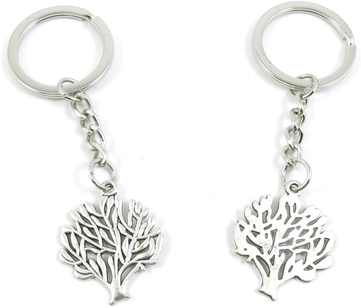 190 Pieces Fashion Jewelry Keyring Keychain Door Car Key Tag Ring Chain Supplier Supply Wholesale Bulk Lots N5NW0 Life String Tree Oak