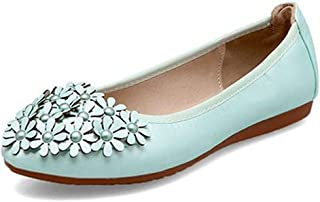 lcky Women's Flat Shoes Sweet Soft Single Shoes Foldable Egg roll Shoes
