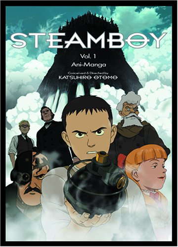 Steamboy: Ani-Manga