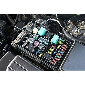 Wekster Car Fuse Assortment Kit, Regular Standard 5, 7.5, 10, 15, 20, 25, 30 AMP APR ATO ATS Auto Fuses for Cars RV, ATV, Golf Cart, Trucks - 120 PCs