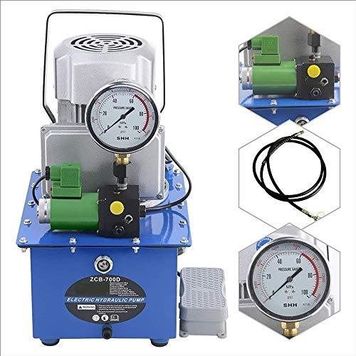 Elektrische Hydraulikpumpe mit Magnetventil seiner 70 Mpa einfachwirkend Motor-Station elektrisches Pedal Hydraulikaggregat, Breite Anwendung