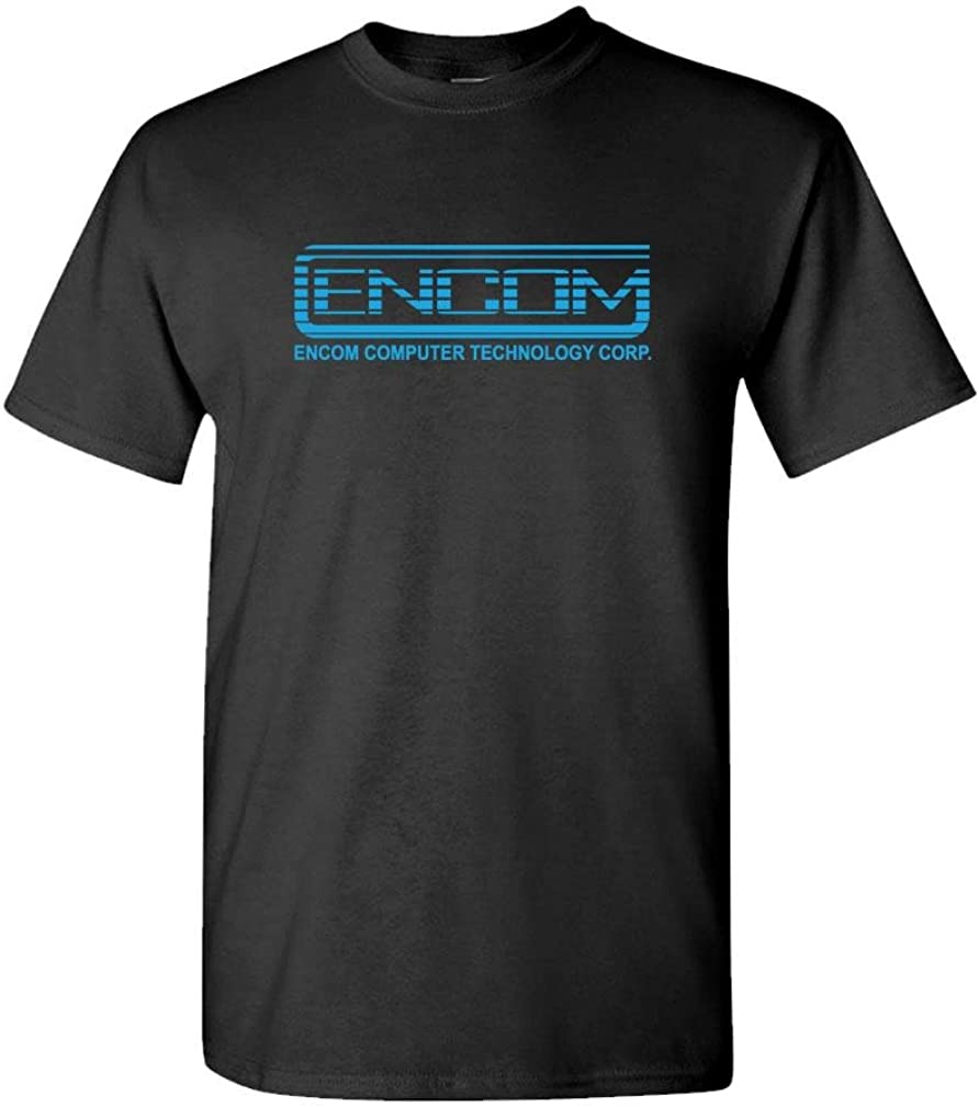 The Goozler ENCOM - Retro 80's Movie Evil Empire - Mens Cotton T-Shirt