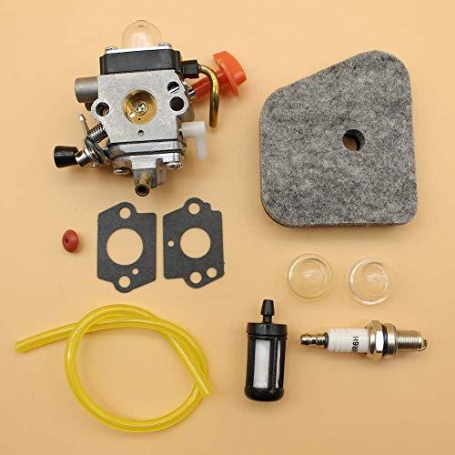 Carburador Filtro de Aire Cebador Bujía Set for STIHL FS90 FS100 FS110 FS130 FS100 FS87 FS90R FS87R cortabordes FS90K De Confianza