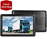 car GPS Navigation System, 9 inch Bluetooth 8GB 256MB Car Truck Lorry Satellite Navigator Device with Post Code POI Search Speed Camera Alerts, with US 2019 Maps Lifetime Free Update (9inch)