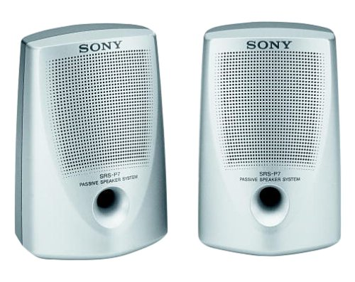 Sony SRS-P7 Passive Speaker System with Stereo Mini-Plug Input