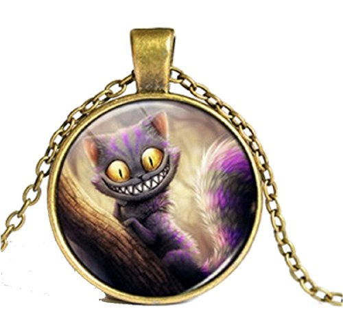 CARINGA - Necklace Cat Locket - Witch - Smile
