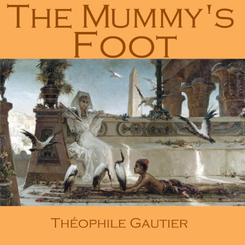 The Mummy's Foot audiobook cover art